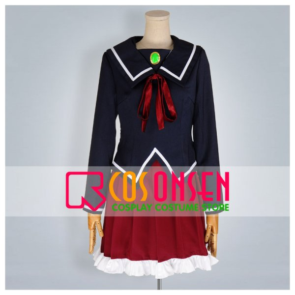 画像1: K 雪染菊理 葦中学園女子制服 コスプレ衣装