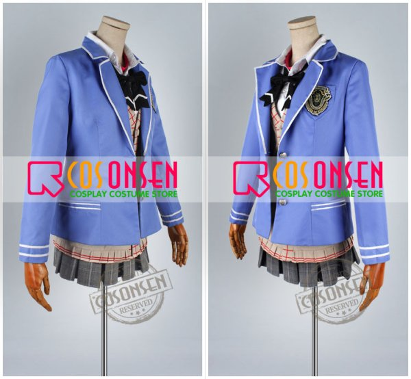 画像3: 学園K 葦中学園高校女子制服 ネコ 大野花沙耶 コスプレ衣装