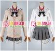 画像4: 学園K 葦中学園高校女子制服 ネコ 大野花沙耶 コスプレ衣装 (4)