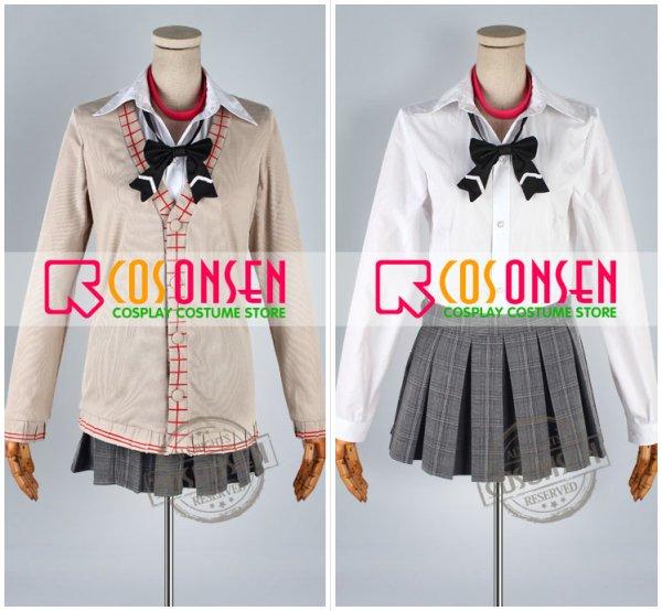 画像4: 学園K 葦中学園高校女子制服 ネコ 大野花沙耶 コスプレ衣装