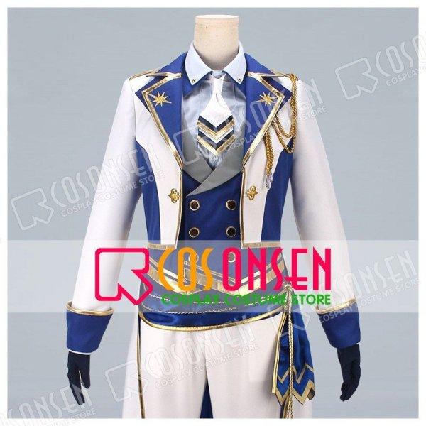 画像1: あんさんぶるスターズ! 光輝★騎士たちのスターライトフェスティバル 朱桜司 コスプレ衣装