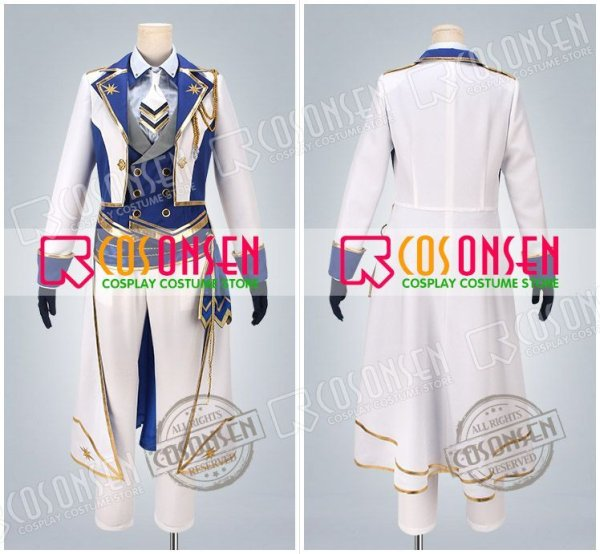 画像2: あんさんぶるスターズ! 光輝★騎士たちのスターライトフェスティバル 朱桜司 コスプレ衣装
