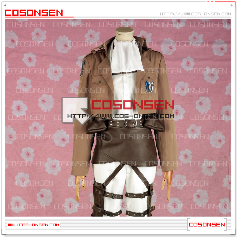 進撃の巨人  リヴァイ兵長  刺繍版 コスプレ衣装
