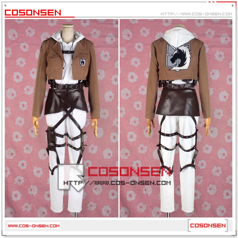 進撃の巨人  アニ・レオンハート  刺繍版 コスプレ衣装