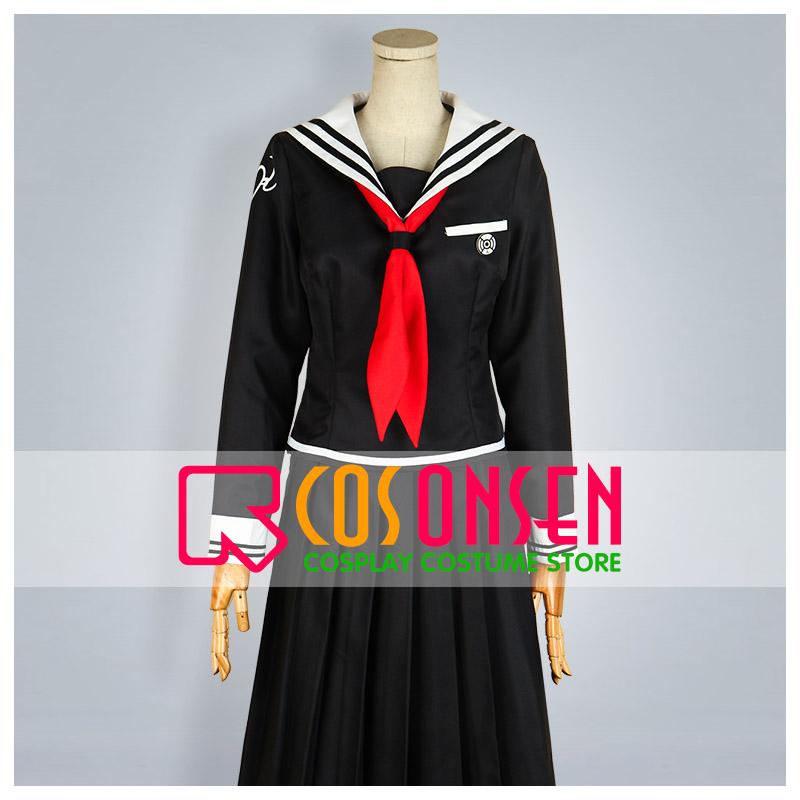 ダンガンロンパ 希望の学園と絶望の高校生  腐川冬子 コスプレ衣装