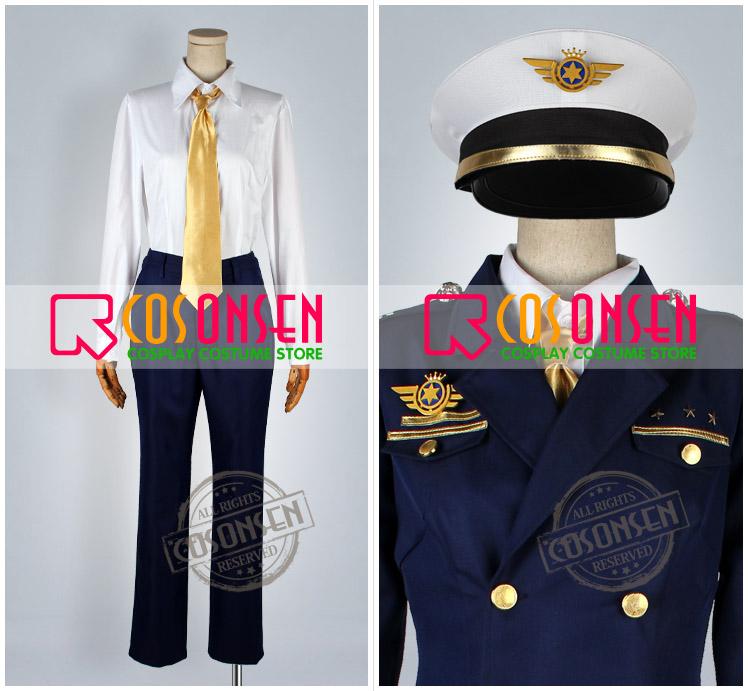 うたの☆プリンスさまっ♪-Shining Airlines 後輩制服 コスプレ衣装
