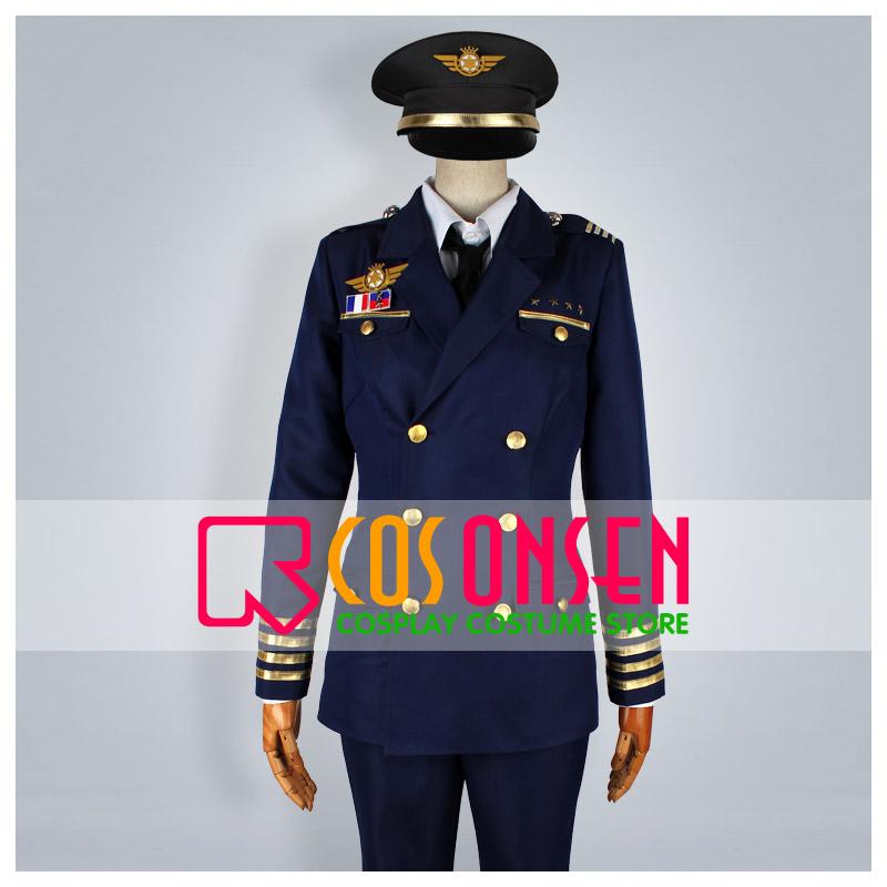 うたの☆プリンスさまっ♪-Shining Airlines 先輩制服 コスプレ衣装
