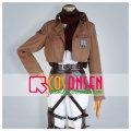 進撃の巨人 ミカサ・アッカーマン 訓練兵団 刺繍版 コスプレ衣装