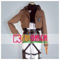 進撃の巨人 ミカサ・アッカーマン  調査兵団 刺繍版 コスプレ衣装 修正版