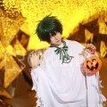 僕のヒーローアカデミア ハロウィン キャラグッズのイラスト 緑谷出久 コスプレ衣装