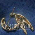 ヴァイオレット・エヴァーガーデン ブローチ コスプレ道具 合金 高さ約4.5cm 幅約5cm