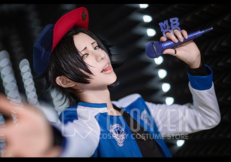 ヒプノシスマイク Buster Bros!!! MC.M.B 山田二郎 コスプレ衣装 [5635]